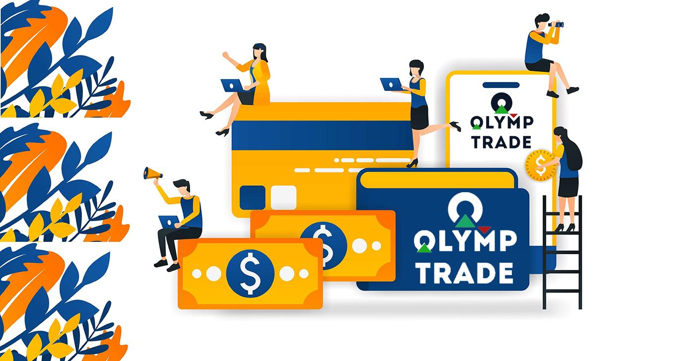 Olymp Trade पर खाता कैसे खोलें और पैसे कैसे निकालें